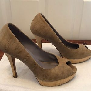Cole Haan Nike Air Peep Toe Pumps Size 8.5